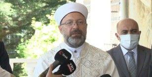 """Diyanet İşleri Başkanı Erbaş: """"Bütün inançlarda masum insanları öldürmek yasaktır"""""""