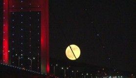 'Süper Çiçek Kanlı Ay' tutulması böyle görüntülendi