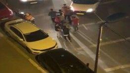 Eyüpsultan'da sürücülerin yol verme kavgası