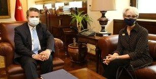 ABD Dışişleri Bakan Yardımcısı Sherman: Sedat Önal ile bölgesel sorunlar hakkında verimli bir görüşme yaptık