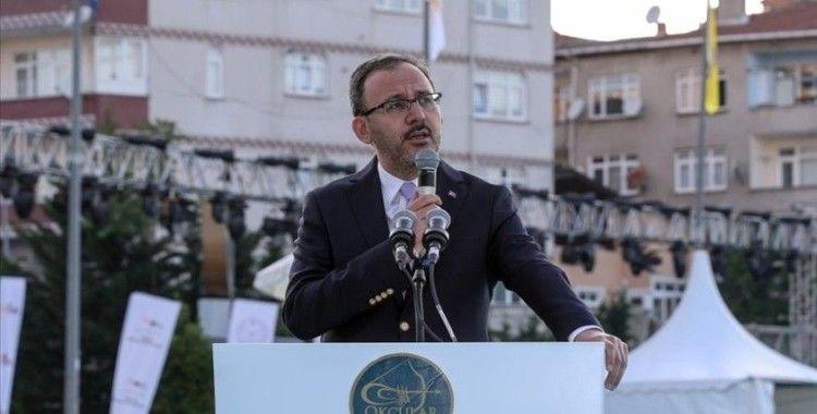 Gençlik ve Spor Bakanı Kasapoğlu: İstanbul'un fethinin 568. yıl dönümünde aynı heyecanı yaşıyoruz