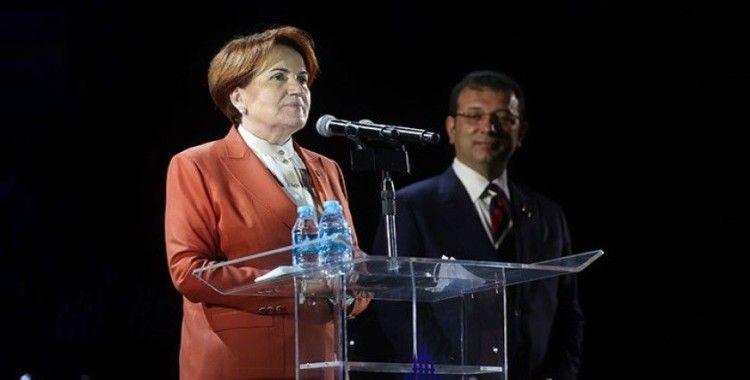 Akşener: İstanbullu daha ne yapsın, yönetimi değiştirdi