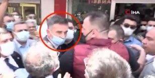 İYİ Parti'liler ile A Haber muhabiri arasında gerginlik