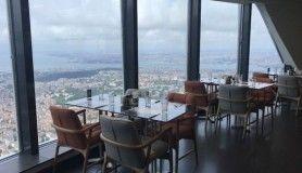 Çamlıca Kulesi restoranı ilk müşterilerini ağırladı