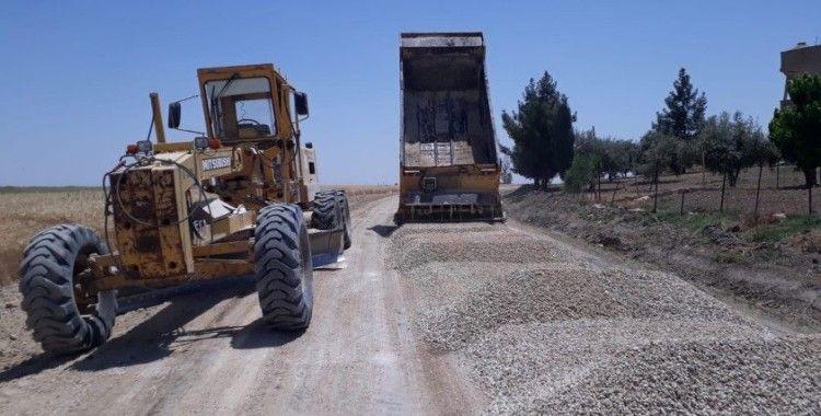 Büyükşehir Belediyesi Mardin genelinde yol çalışmalarına başladı