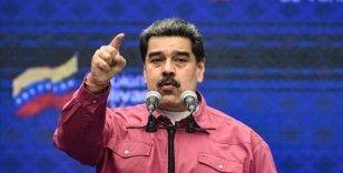 Venezuela Devlet Başkanı Maduro, Kolombiya'daki gösteriler nedeniyle uluslararası toplumu eleştirdi