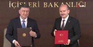Bakan Soylu, Özbek mevkidaşı Bobojonov'u kabul etti