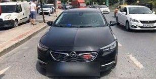 İstanbul'da çakarlı araç denetimi: 899 araca 1 milyon 203 bin 761 TL ceza kesildi