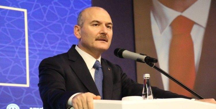 Bakan Soylu, Bitlis'te şehit olan Yücel Aki ve Baki Koçak'ın ailelerine başsağlığı diledi