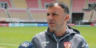 Kuzey Makedonya Milli Takımı Teknik Direktörü Angelovski: Türk futbolu zirvede olmayı hak ediyor