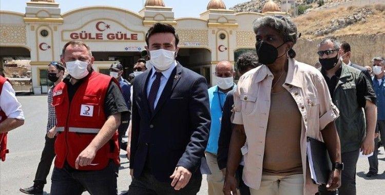 ABD'nin BM Daimi Temsilcisi Greenfield: Suriye sınırında kapatılan kapıların açılması için çalışacağız