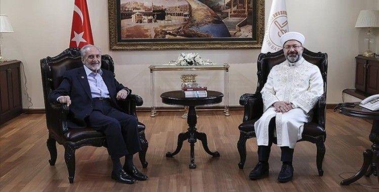 Saadet Partisi Yüksek İstişare Kurulu Başkanı Asiltürk'ten Diyanet İşleri Başkanı Erbaş'a ziyaret