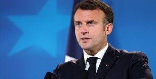 Macron, Irak'ta yapılacak erken seçimlere destek vermeye hazır olduklarını bildirdi