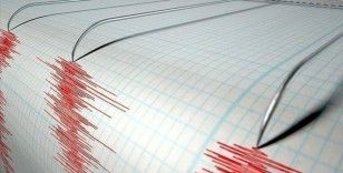 Ege Denizi'nde 4,1 büyüklüğünde deprem