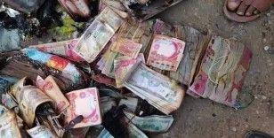 Irak'ta kamp yangınında bir göçmenin 118 bin doları yandı