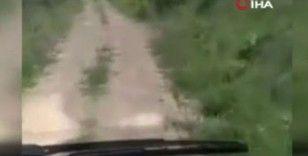 Kelbecer'de gazetecilerin hayatını kaybettiği mayın patlamasının görüntüleri ortaya çıktı