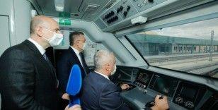 """""""Ankara-Sivas Yüksek Hızlı Tren projesinde çalışmaların tamamlanmak üzere"""""""