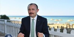 Ticaret Bakanı Muş: KKTC ile yaptığımız protokol ve anlaşmalarla önünü açtığımızı düşünüyorum