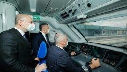 Ankara-Sivas Yüksek Hızlı Tren projesinde çalışmaların tamamlanmak üzere
