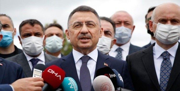 Cumhurbaşkanı Yardımcısı Oktay: Kovid-19 salgınına karşın yatırımlar çok hızlı sürüyor