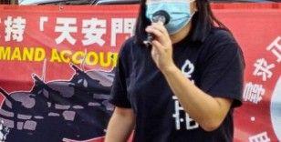 Hong Kong'da Tiananmen katliamı için tören düzenleyen avukat serbest bırakıldı