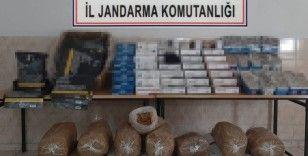 Tekirdağ'da kaçak tütün operasyonu