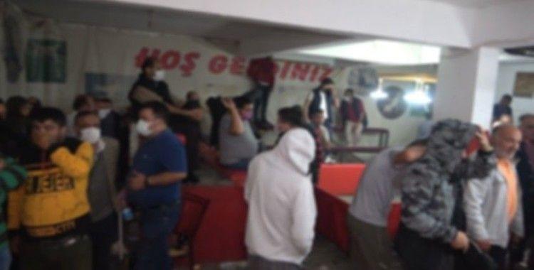 Kırıkkale'de horoz dövüşü baskını: 69 kişiye 431 bin 250 lira ceza