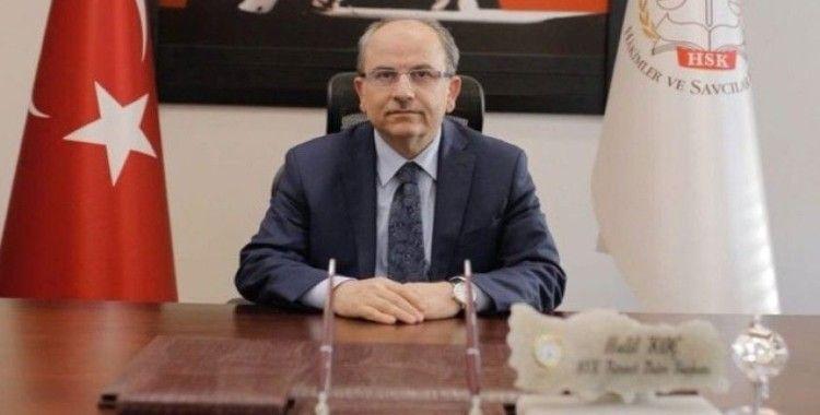 Hakim ve Savcılar Kurulu'nun 1. Daire Başkanı Halil Koç oldu