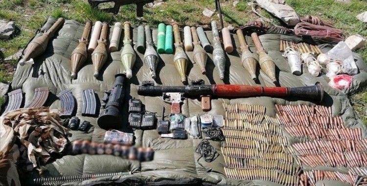Van'da PKK'ya yönelik operasyonda silah ve mühimmat ele geçirildi