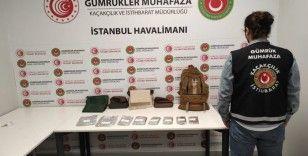İstanbul Havalimanı'nda 13 kilo uyuşturucu ele geçirildi