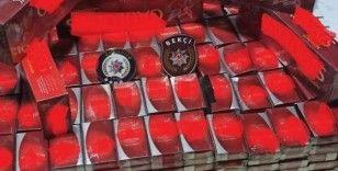 Gaziantep'te 417 paket kaçak sigara ele geçirildi