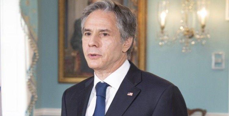 ABD Dışişleri Bakanı Blinken: Nükleer anlaşmaya dönülse bile İran'a yönelik yüzlerce yaptırım yürürlükte kalacak