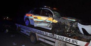 Bartın'da jandarma trafik aracı ile cip çarpıştı: 2'si uzman çavuş 4 yaralı
