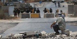 İsrail askerlerinden Batı Şeria'da gösteri düzenleyen Filistinlilere müdahale