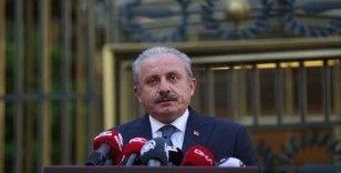 TBMM Başkanı Şentop, AKPM Ukrayna Delegasyonu Başkanı Mezentseva ile görüştü