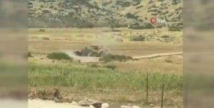 İsrail güçleri, Filistinlilere ait sulama göletini yerle bir etti