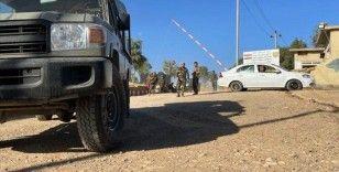 Terör örgütü PKK, Irak'ın Duhok kentinde bir peşmergeyi öldürdü