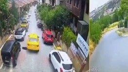 İstanbul'da feci olay, Taksici köpeği ezip kaçtı