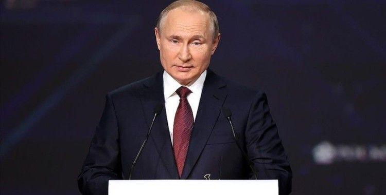 Putin, inşaatında Türk şirketinin de yer aldığı tesisi açtı