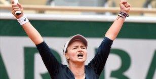 Çek tenisçi Krejcikova Fransa Açık'ta yarı finalde