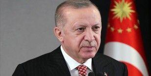 Cumhurbaşkanı Erdoğan, şehit Jandarma Astsubay Öztürk'ün ailesine başsağlığı diledi