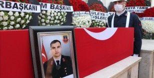 Şehit Jandarma Uzman Çavuş Adil Yılmaz, Hatay'da son yolculuğuna uğurlandı