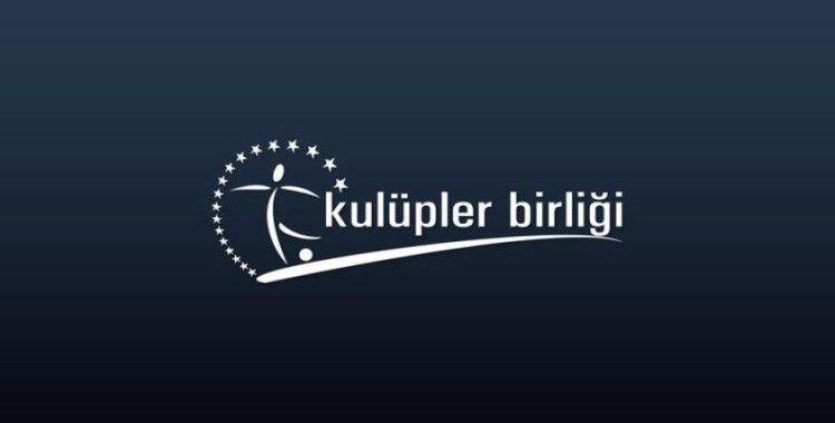 Kulüpler Birliği: 'Süper Lig, iki sezon daha 20 takımla devam etsin'