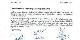 """Kulüpler Birliği'nden TFF'ye: """"14 yabancı kuralı devam etmeli"""""""