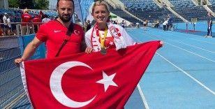 Dünya Para Atletizm Şampiyonası'nda Fatma Damla Altın'dan ikinci dünya şampiyonluğu