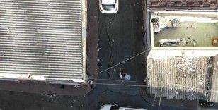 İstanbul'da suç makinesi şahıs drone ile yakalandı