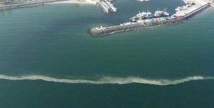 İstanbul sahillerinde kilometrelerce müsilaj hattı oluştu