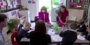 First Lady Biden ve Cambridge Düşesi Middleton'dan okul ziyareti