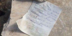 """Elazığ'da ölümle biten araç yangınında """"Bombayı ben patlattım"""" notları dikkat çekti"""
