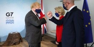 Johnson, Merkel ve AB yetkilileriyle görüştü